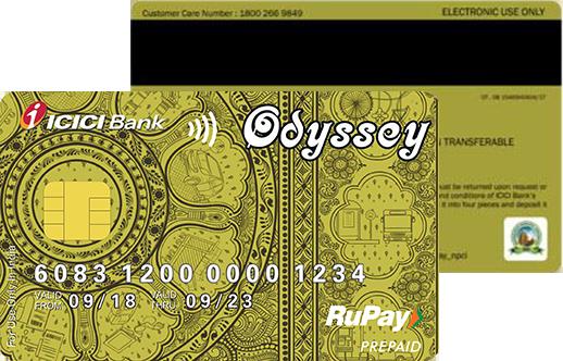 Odyssey card